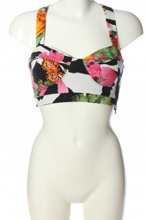 River Island Cropped top abstract patroon casual uitstraling