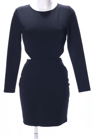 River Island Vestido cut out negro look casual