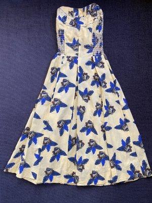 River Island Damen Sommerkleid Gelb Gr. XXS ( 32 ) wie NEU !!