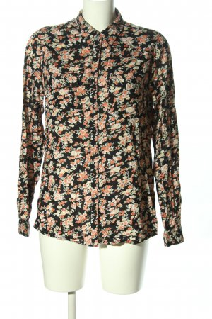 River Island Hemd-Bluse Allover-Druck Casual-Look