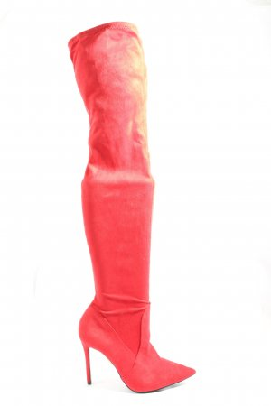 River Island High Heel Boots red elegant