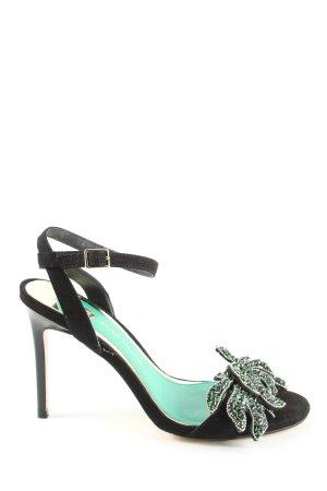 River Island High Heels schwarz-grün Elegant