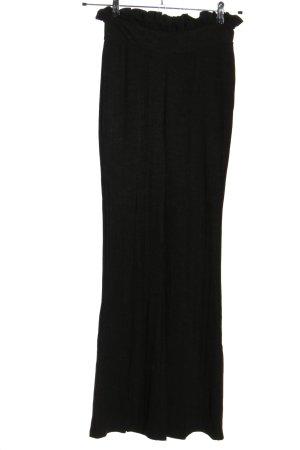 River Island High Waist Trousers black elegant