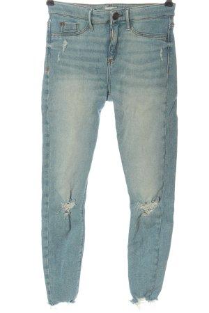 River Island High Waist Jeans blau Casual-Look