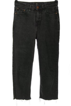 River Island Jeans taille haute noir style décontracté
