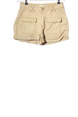River Island High-Waist-Shorts wollweiß Casual-Look