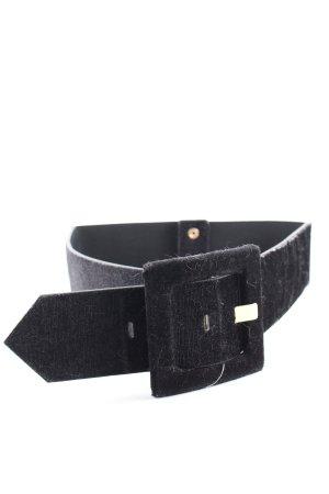 River Island Cinturón de cadera negro look Street-Style