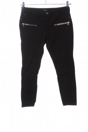 River Island Low-Rise Trousers black casual look
