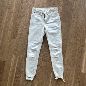 River Island Jeans Skinny XXS 32 Creme Ecru petite