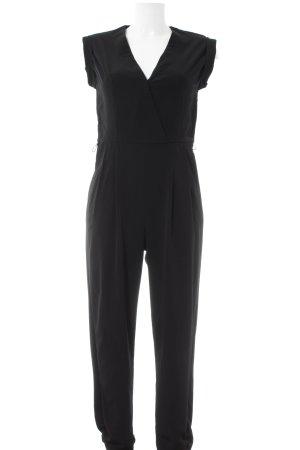 River Island Jumpsuit schwarz schlichter Stil
