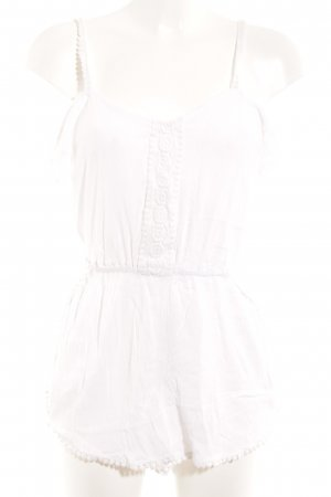 River Island Jumpsuit white casual look