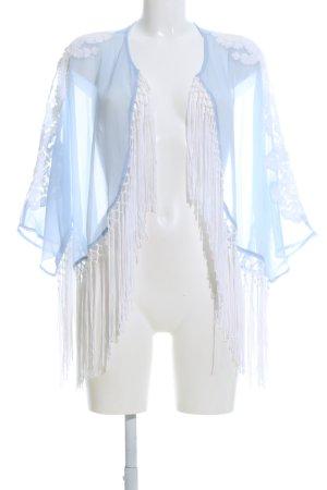 River Island Kimono white-blue elegant