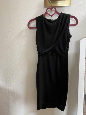 River Island Vestido cut out negro