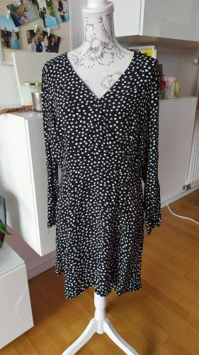 River Island Kleid gepunktet gr XL