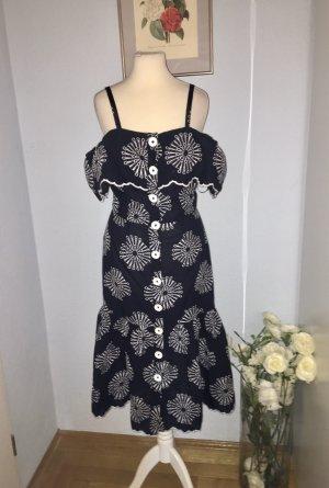 River Island Kleid mit Stickerei 100% Baumwolle
