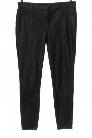 River Island Faux Leather Trousers black party style