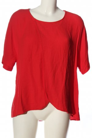 River Island Kurzarm-Bluse rot Casual-Look