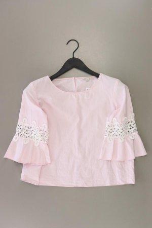 River Island Short Sleeved Blouse dusky pink-pink-light pink-pink cotton