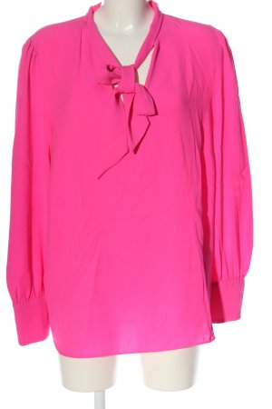 River Island Long Sleeve Blouse pink business style