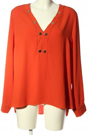 River Island Langarm-Bluse rot Casual-Look