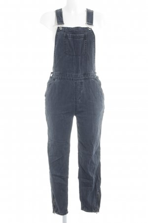 River Island Overall donkerblauw casual uitstraling