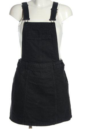 River Island Spódnica ogrodniczka czarny W stylu casual