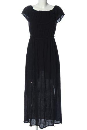 River Island Vestido largo negro elegante