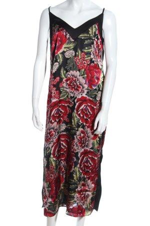 River Island Robe mi-longue imprimé allover style décontracté