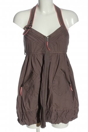 River Island Mini Dress bronze-colored-pink casual look