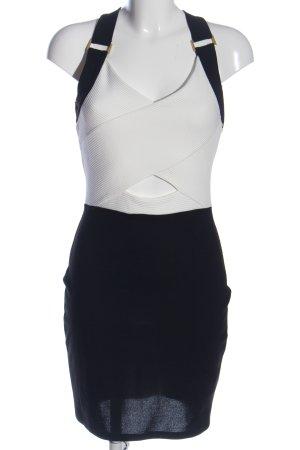 River Island Minikleid schwarz-weiß Party-Look