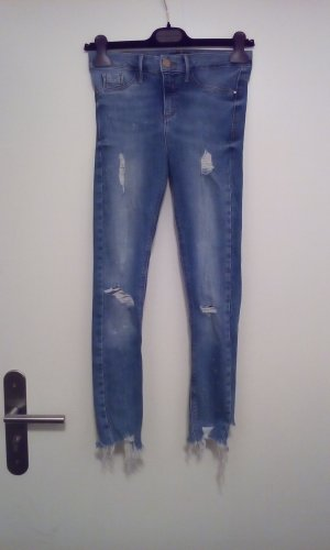 River Island Molly jeans desdroyed Look