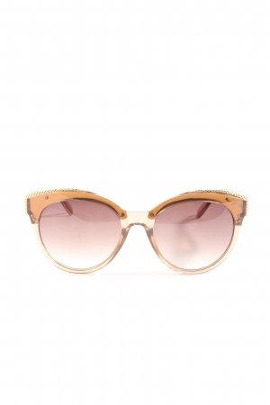 River Island Oval Sunglasses pink casual look