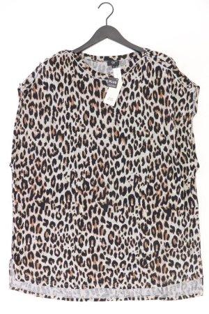 River Island Oversize-Shirt Größe UK 28 mit Tierdruck neu mit Etikett braun