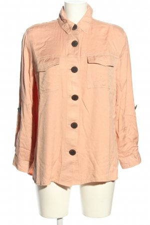 River Island Oversized Bluse nude Casual-Look