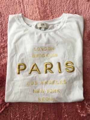 River Island Petite T-Shirt Print Fashionista