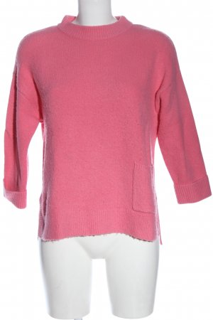 River Island Rundhalspullover pink Casual-Look