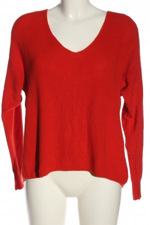 River Island Strickpullover rot Casual-Look