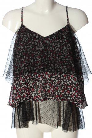 River Island Blouse topje abstract patroon casual uitstraling