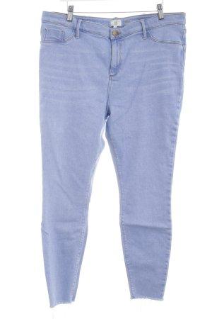 River Island Skinny Jeans blau Casual-Look