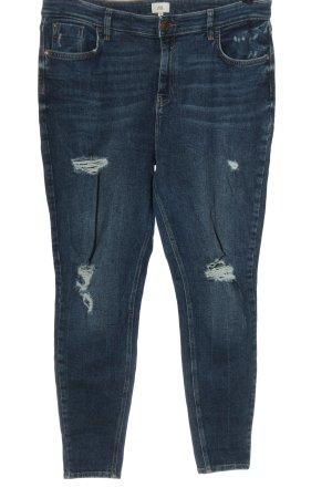 River Island Jeans skinny bleu style décontracté