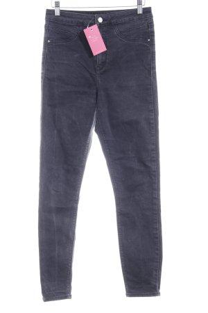 River Island Skinny Jeans schwarz Casual-Look