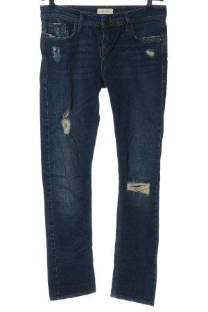 River Island Slim Jeans blau Casual-Look
