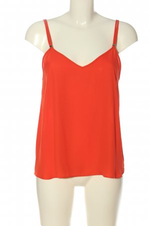 River Island Spaghettibandtopje rood casual uitstraling