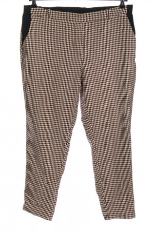 River Island Jersey Pants cream-brown allover print casual look