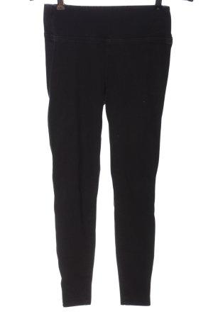 River Island Pantalone jersey nero stile casual