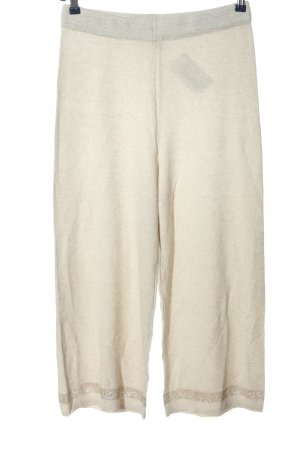 River Island Jersey Pants natural white flecked casual look