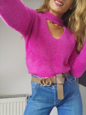 River island turtle neck pink pullover gr 10 s np 49.90€