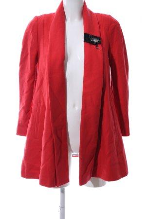 River Island Between-Seasons-Coat red casual look