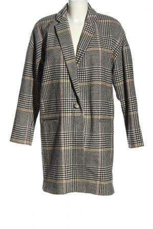 River Island Wool Coat check pattern casual look