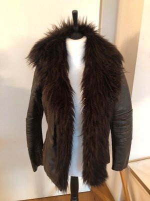 Riverisland Fake Fur/Lederjacke